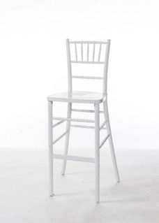White Chiavari Bar Stool
