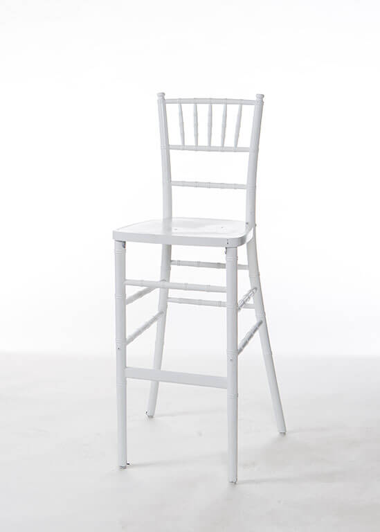 Strange White Chiavari Bar Stool Bralicious Painted Fabric Chair Ideas Braliciousco