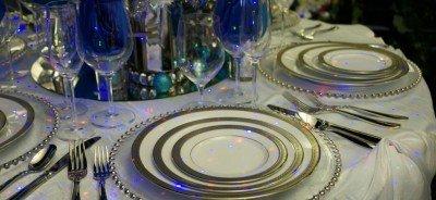 holiday season tablescape