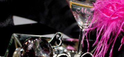 Martini Glass and props