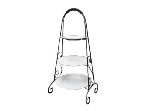 3-Tiered Wrought Iron Rack - NEW!