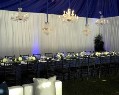 A Royal Blue Dinner Party