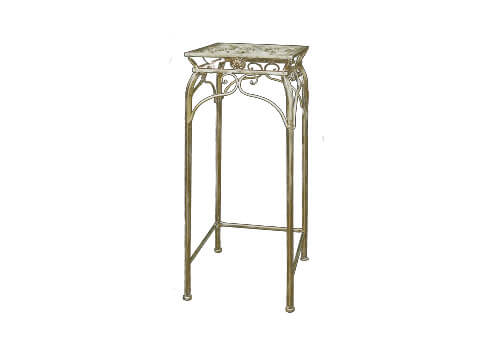 Antique Metal Stand