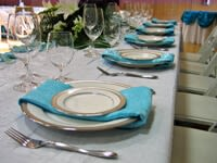 Aqua and White Stuart Wedding_1