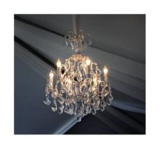 Audrey White Chandelier