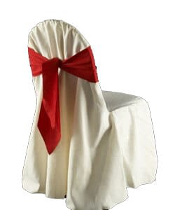 Ballroom Cotton Chair Covers