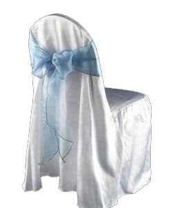 Ballroom Satin Chair Cover
