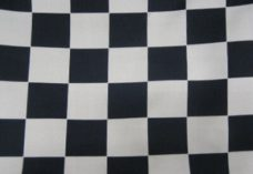 Black and Grey Checkered