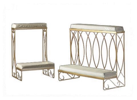 Brass Kneeling Benches