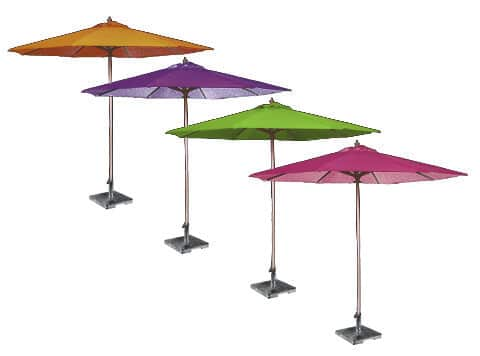 Colored Market Umbrellas - NEW!