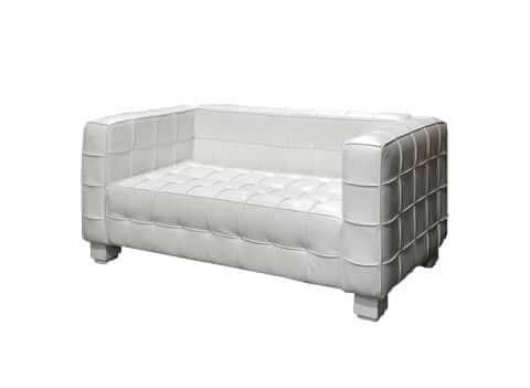 Cubic - Loveseat White (Final)
