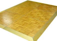 Dance Floor - Light Oak Parquet 3'x3' Sections