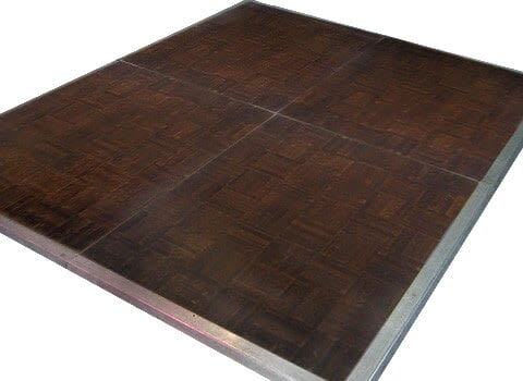 Dance Floor - Oak Parquet 3'x4' Sections