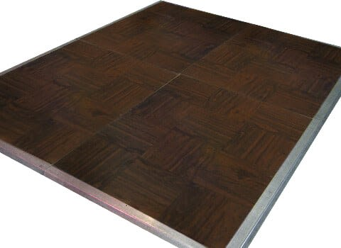 Dance Floor - Oak Vinyl 3'x4' Sections
