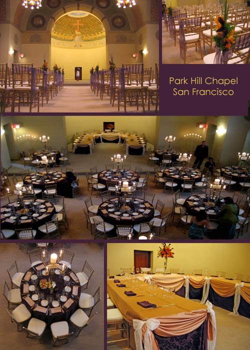 Elegant Purple & Gold San Francisco Wedding