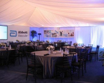 Elegant Tented Meeting