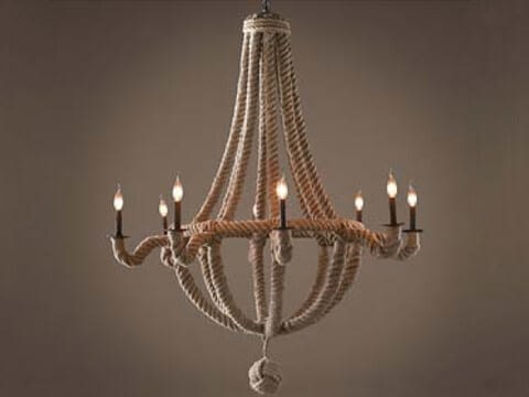 Empire Rope Chandelier