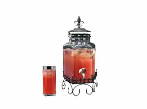 Fleur de lis Beverage Dispenser - Copy
