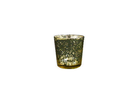 Gold Mercury Glass Votive - NEW!