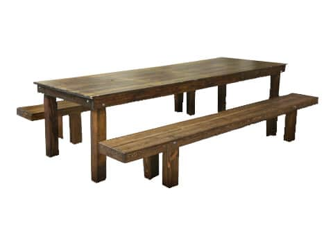 Attirant Harvest Table U0026 Bench