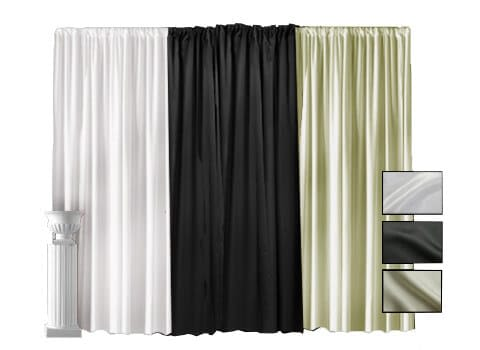 Lamour Pipe and Drape - 10' High (2)