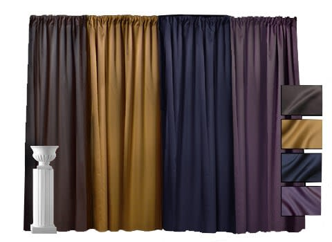Lamour Pipe and Drape - 10' High
