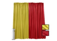 Lamour Pipe and Drape - 12' High (2)