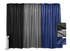 Lamour Pipe and Drape - 12' High