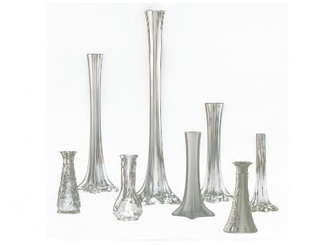 Maestro And Bud Glass Vases