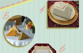 Notice Your Napkins A Subtle Addition to Table Designs