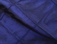 Pintuck Midnight Blue