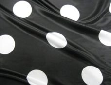 Polka Dot Black & White - NEW!