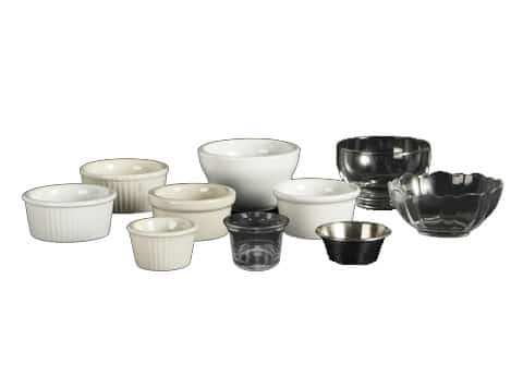 Ramekins, Bouillion Cups, Small Bowls