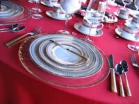 Red, Pink, White, & Black Table Settings for Valentine's Day_2