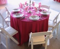 Red, Pink, White, & Black Table Settings for Valentine's Day_9