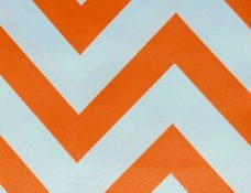Small Chevron Orange - NEW!