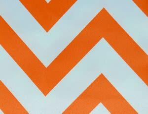 Small Chevron Orange - NEW!