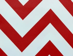 Small Chevron Red - NEW!