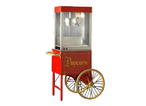 Small Popcorn Machine with Cart