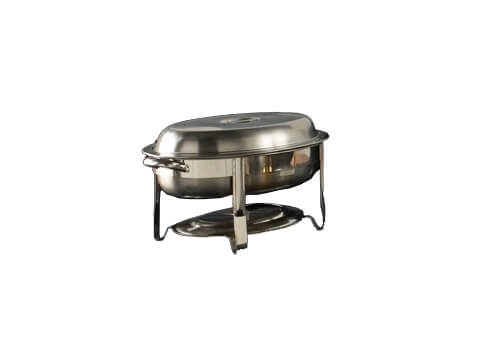 Stainless Oval Chafers