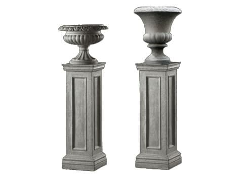 Stone Columns and Urns
