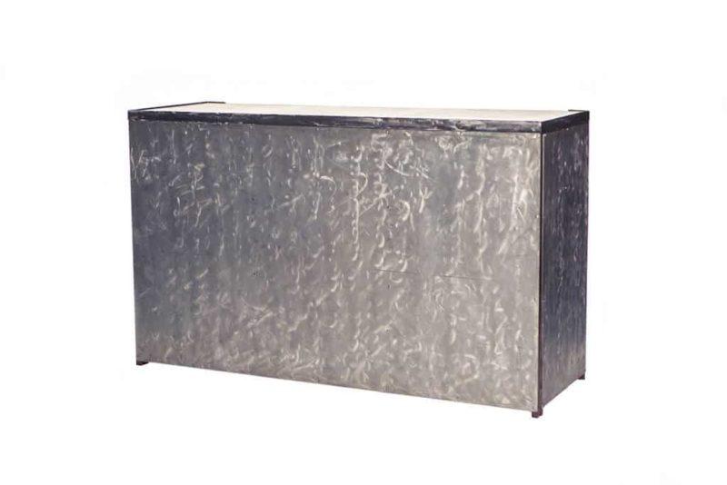 Brushed Aluminum Bar
