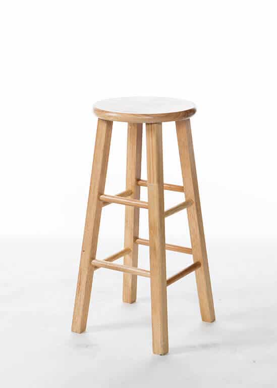 Natural Bar Stool