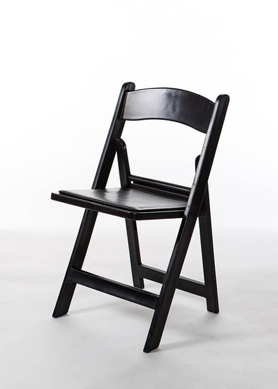 Delightful Black Resin Chair