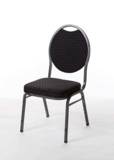 Charcoal Ballroom Chair