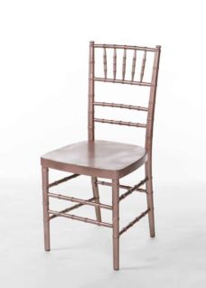 Copper Chiavari Chair