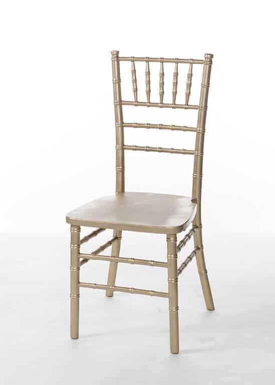 Gold Chiavari ChairStuart Event Rentals