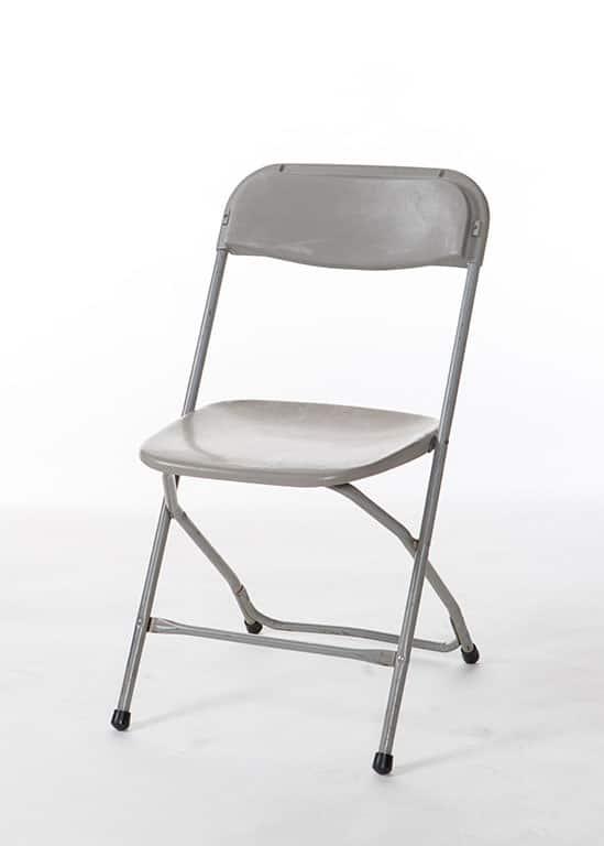 Grey Festival Samsonite Chair