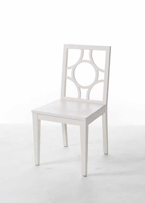 White Compass Chair