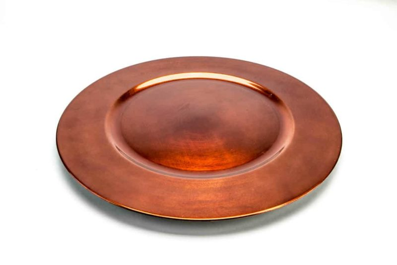 Copper Lacquer Charger